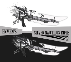 Silver Nautilus Rifle